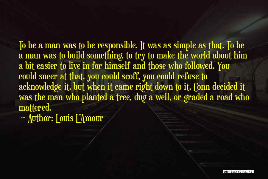 Make It Right Quotes By Louis L'Amour