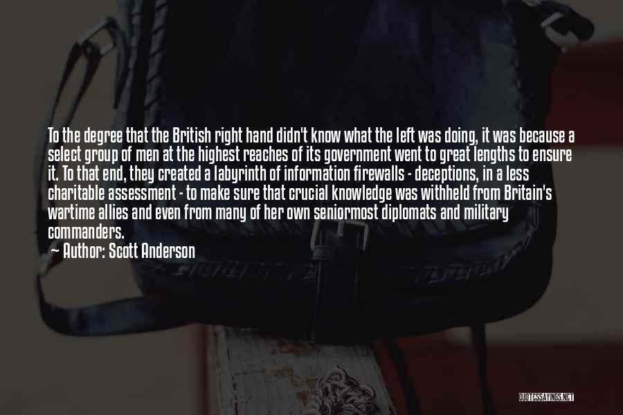 Make It Right Quotes By Scott Anderson