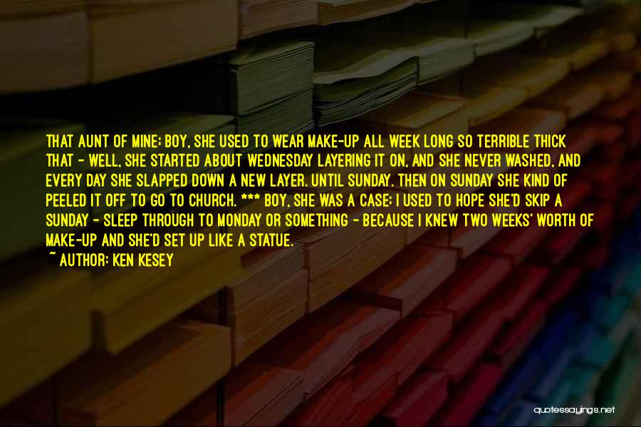 Make It Through The Week Quotes By Ken Kesey