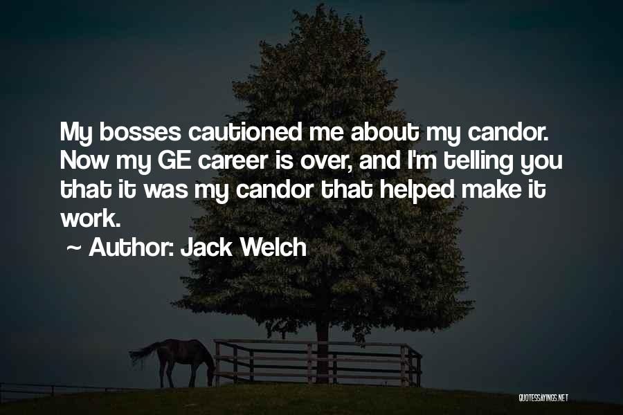 Make It Work Quotes By Jack Welch