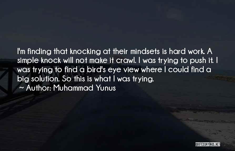 Make It Work Quotes By Muhammad Yunus