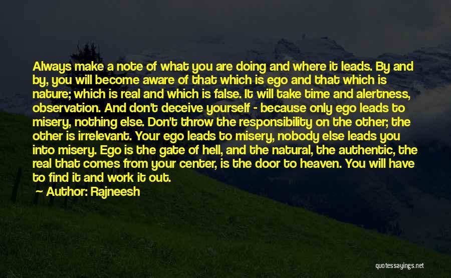 Make It Work Quotes By Rajneesh