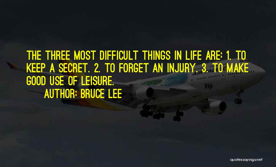 Make Life Difficult Quotes By Bruce Lee