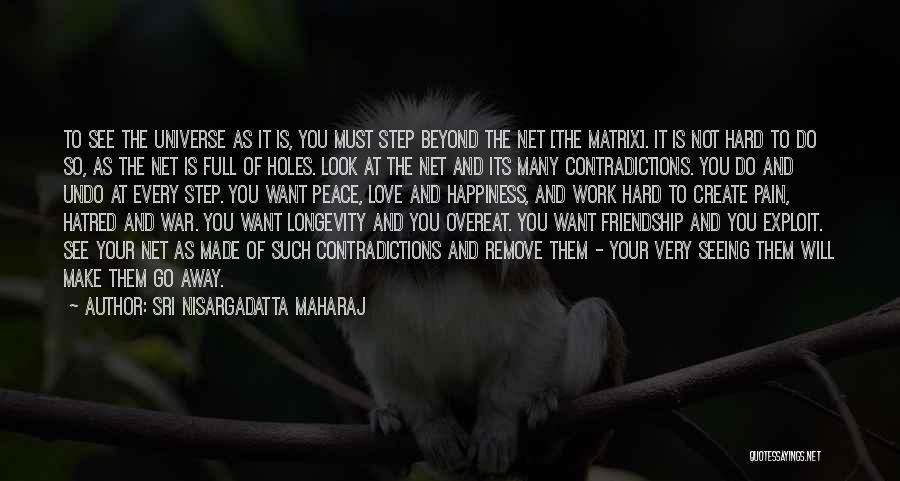 Make Love Not War Quotes By Sri Nisargadatta Maharaj