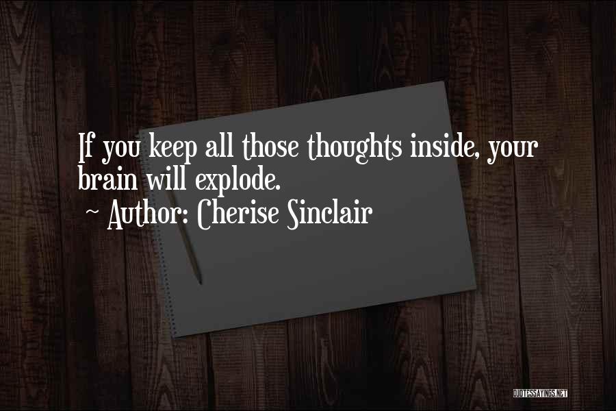 Make Me Sir Cherise Sinclair Quotes By Cherise Sinclair