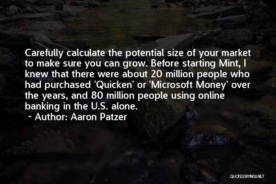 Make Money Online Quotes By Aaron Patzer