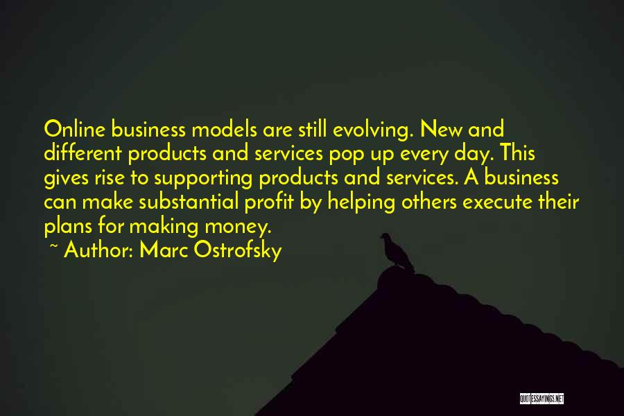 Make Money Online Quotes By Marc Ostrofsky