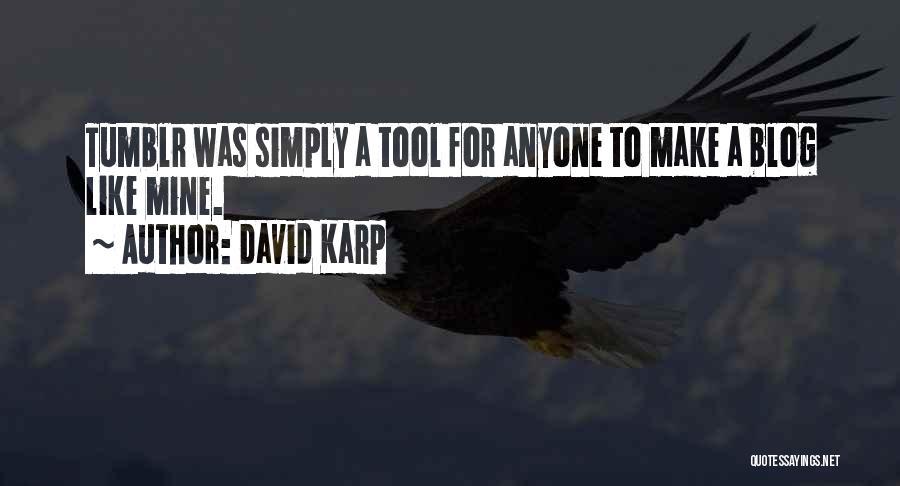 Make My Own Tumblr Quotes By David Karp