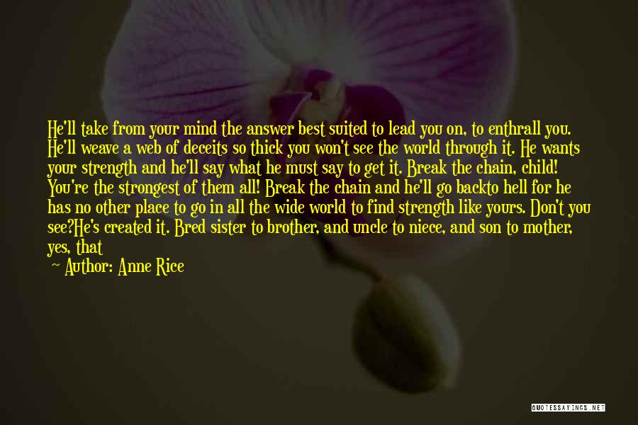 Make The Best Of What You Have Quotes By Anne Rice