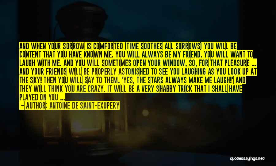 Make Time For Your Friends Quotes By Antoine De Saint-Exupery