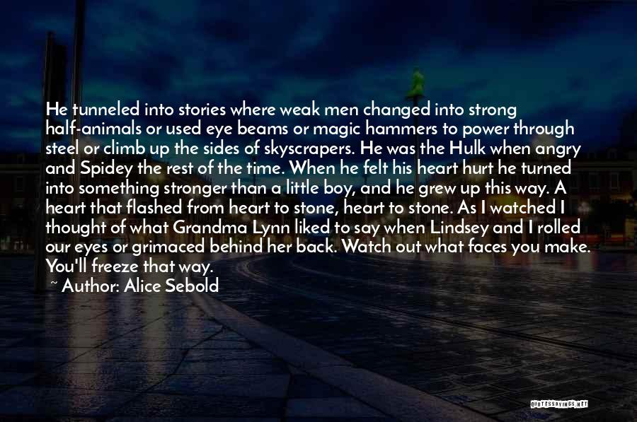 Make Up Stories Quotes By Alice Sebold