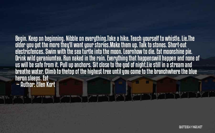 Make Up Stories Quotes By Ellen Kort