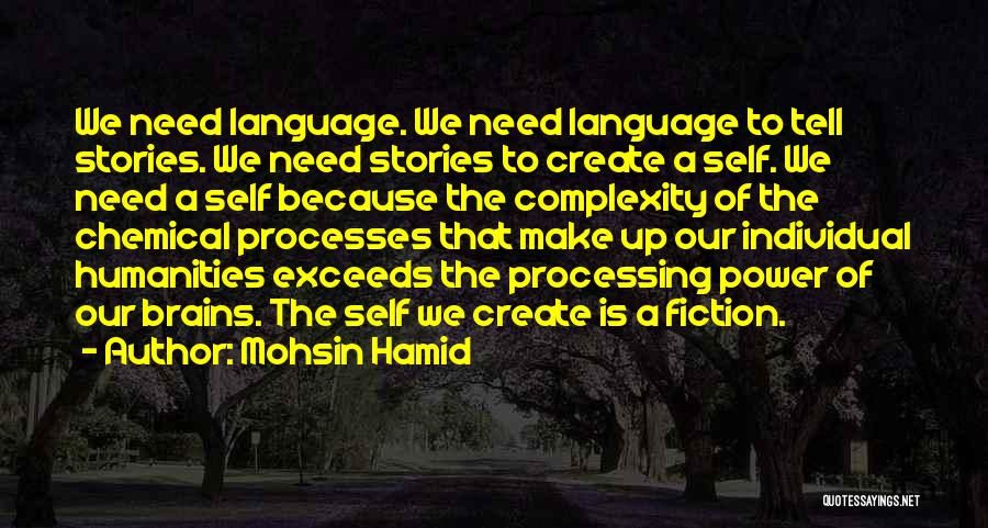 Make Up Stories Quotes By Mohsin Hamid