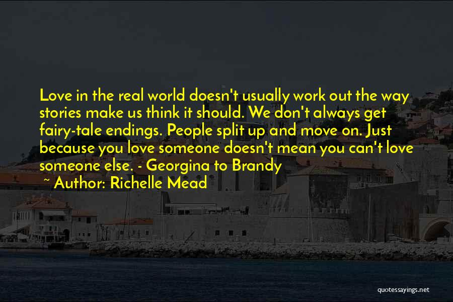 Make Up Stories Quotes By Richelle Mead