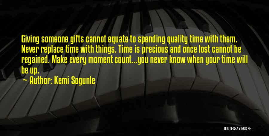 Make Your Life Count Quotes By Kemi Sogunle