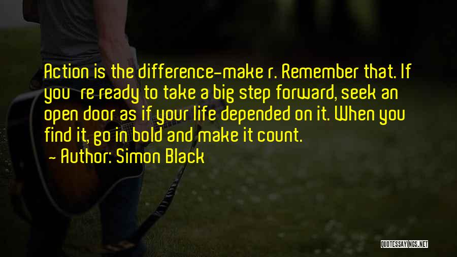 Make Your Life Count Quotes By Simon Black