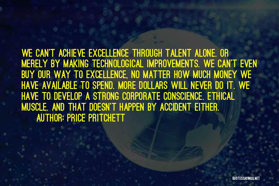 Making Improvements Quotes By Price Pritchett