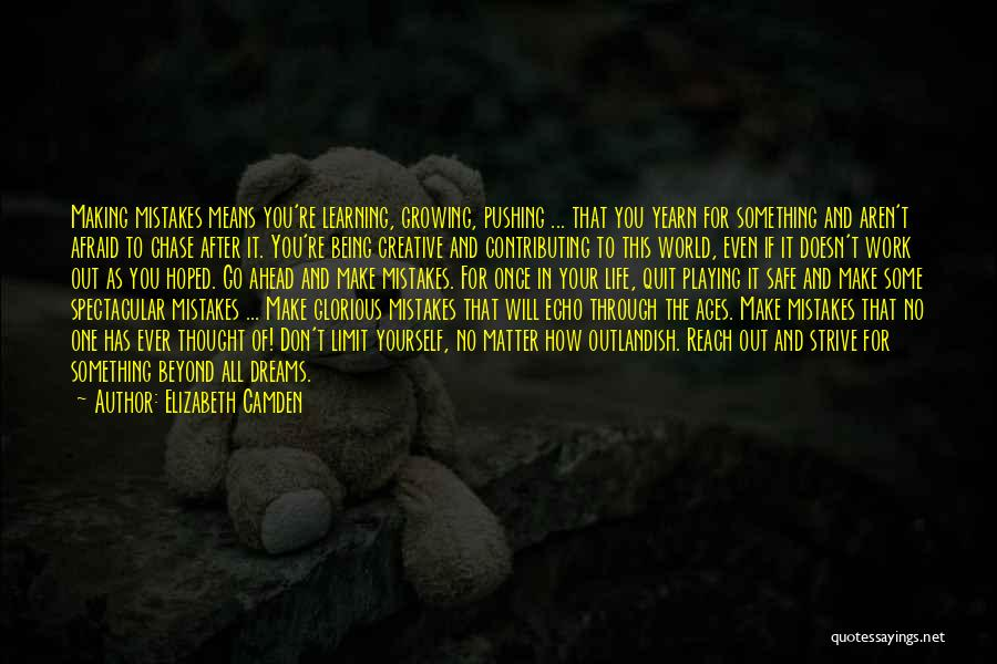 Making Mistakes And Learning From Them Quotes By Elizabeth Camden