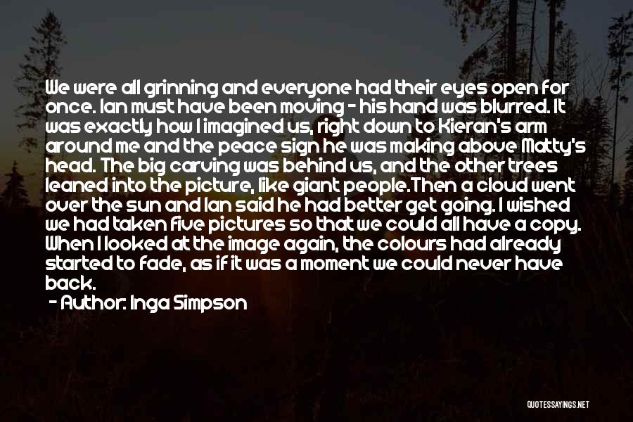Making Peace With Past Quotes By Inga Simpson