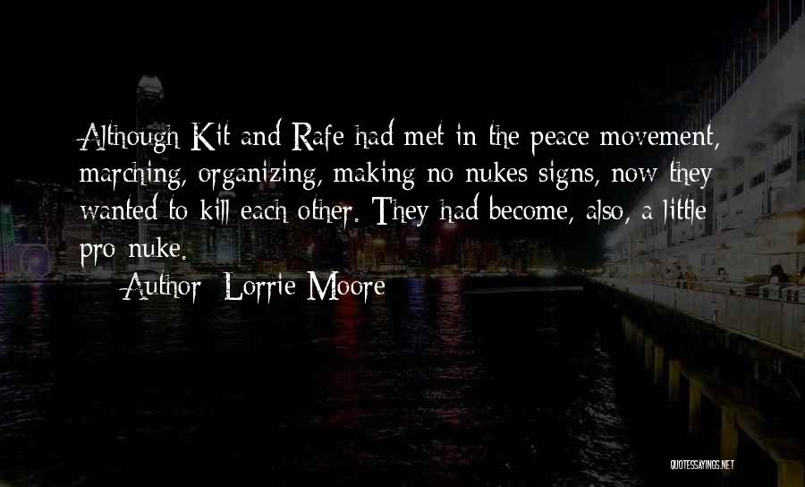Making Peace With Past Quotes By Lorrie Moore