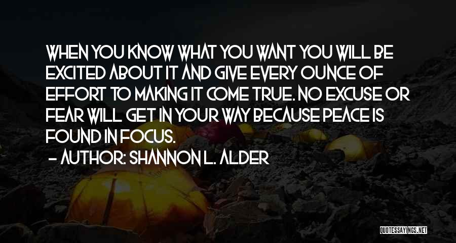 Making Plans In Life Quotes By Shannon L. Alder