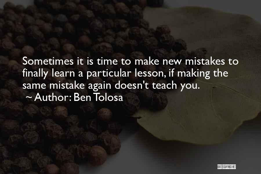 Top 9 Quotes Sayings About Making The Same Mistakes Over And Over