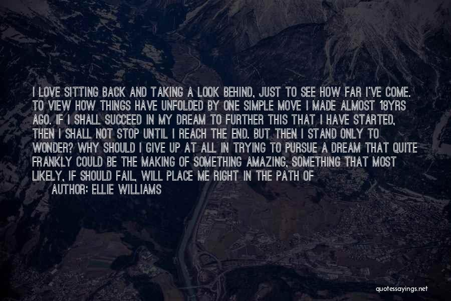 Making Things Simple Quotes By Ellie Williams