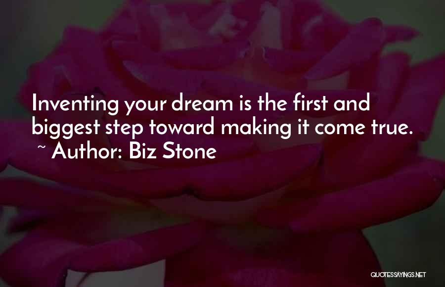 Making Your Dream Come True Quotes By Biz Stone