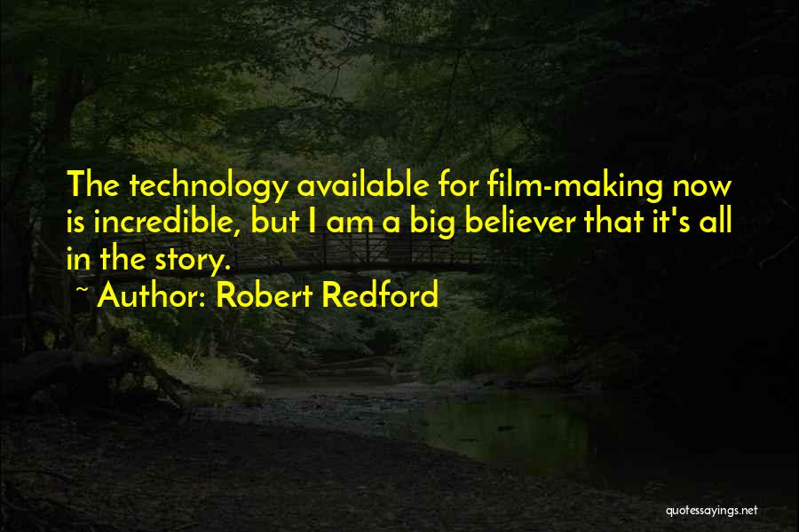 Making Yourself Available Quotes By Robert Redford