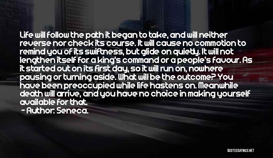 Making Yourself Available Quotes By Seneca.