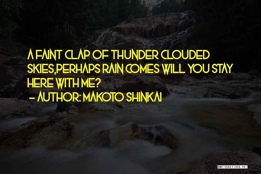 Makoto Shinkai Quotes 1773266