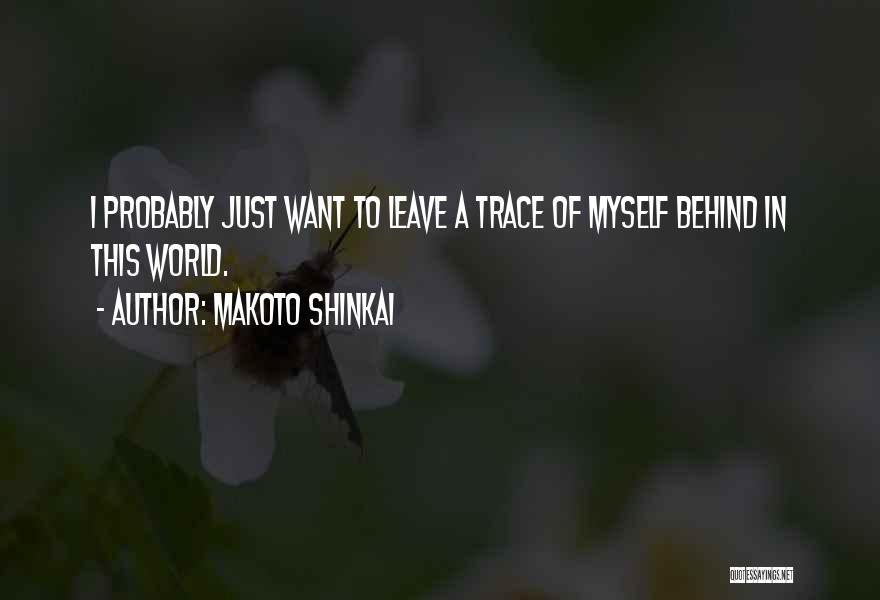 Makoto Shinkai Quotes 248207
