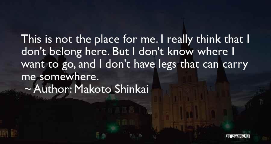 Makoto Shinkai Quotes 423953