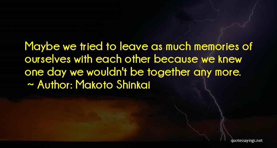 Makoto Shinkai Quotes 791298