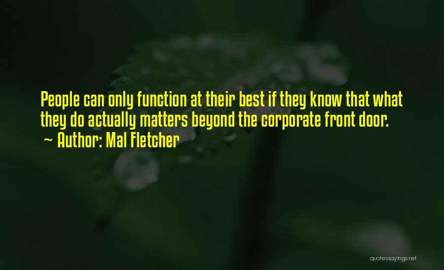 Mal Fletcher Quotes 233805