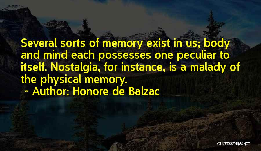 Malady Quotes By Honore De Balzac