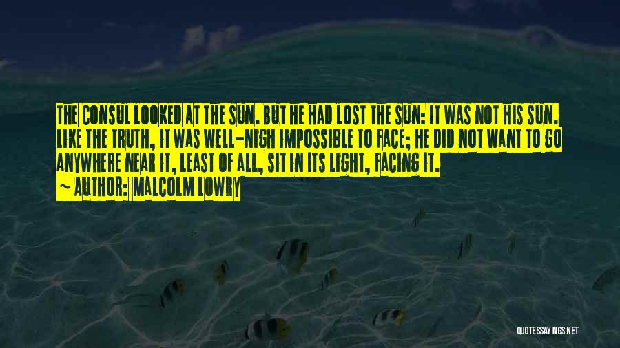 Malcolm Lowry Quotes 283300