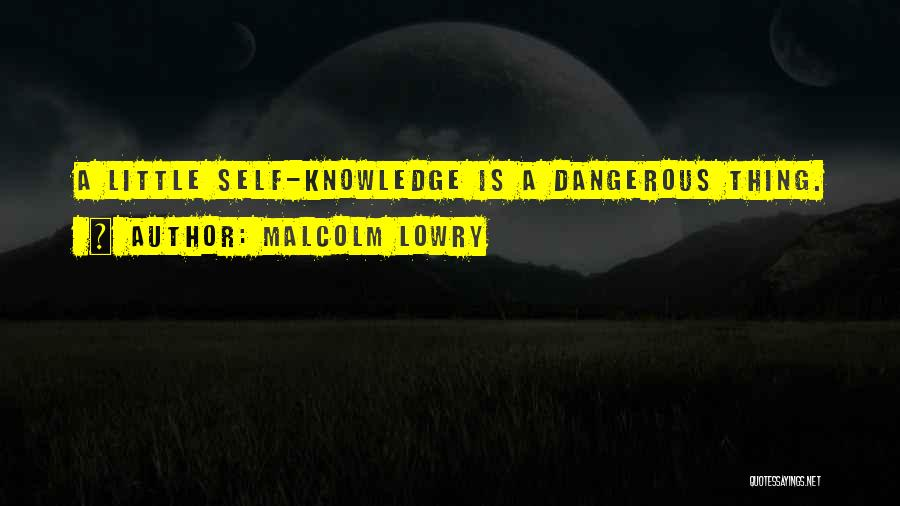 Malcolm Lowry Quotes 453836