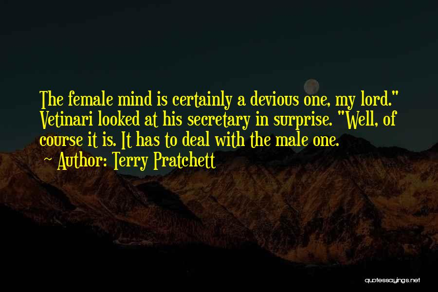 Male Female Funny Quotes By Terry Pratchett