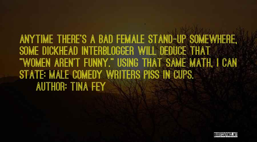 Male Female Funny Quotes By Tina Fey