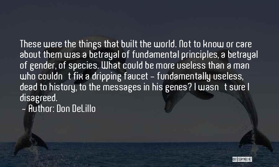 Maleness Quotes By Don DeLillo