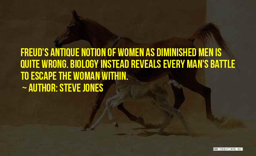 Maleness Quotes By Steve Jones