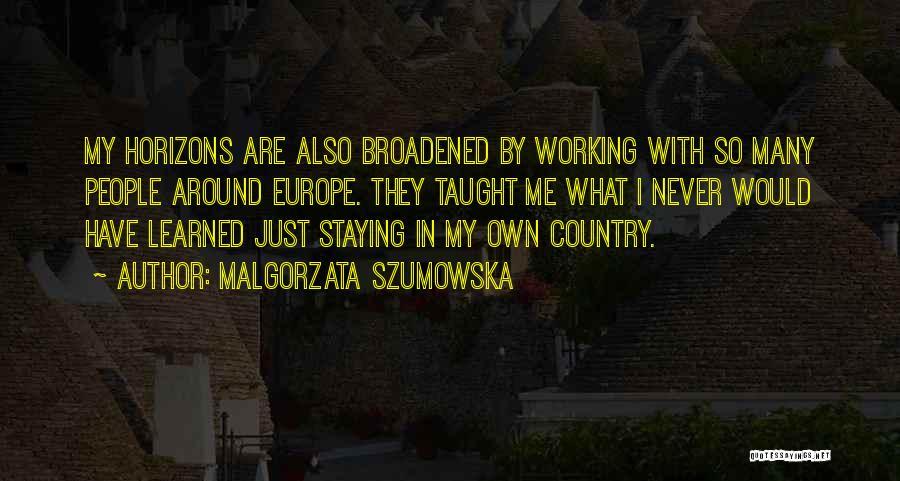 Malgorzata Szumowska Quotes 1820067