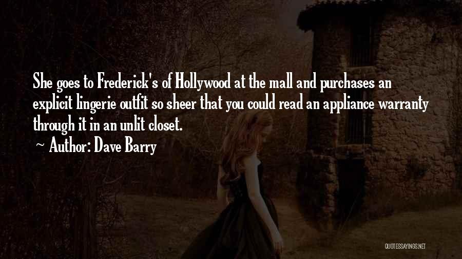 Mall Cop Funny Quotes By Dave Barry