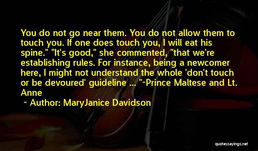 Maltese Quotes By MaryJanice Davidson