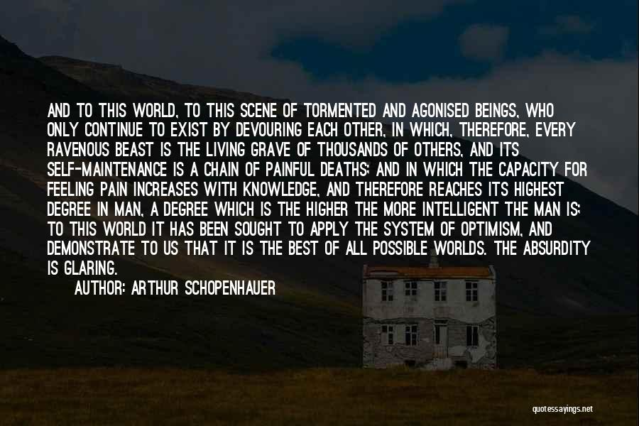 Man And Beast Quotes By Arthur Schopenhauer
