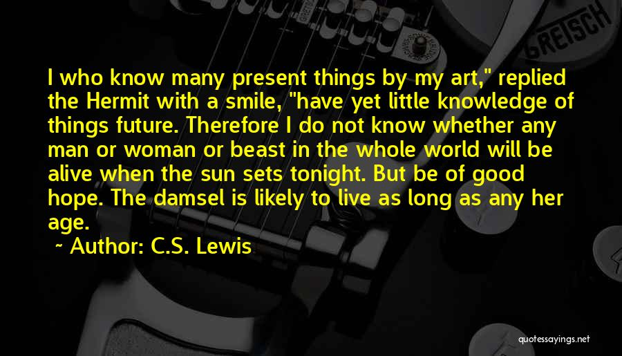 Man And Beast Quotes By C.S. Lewis