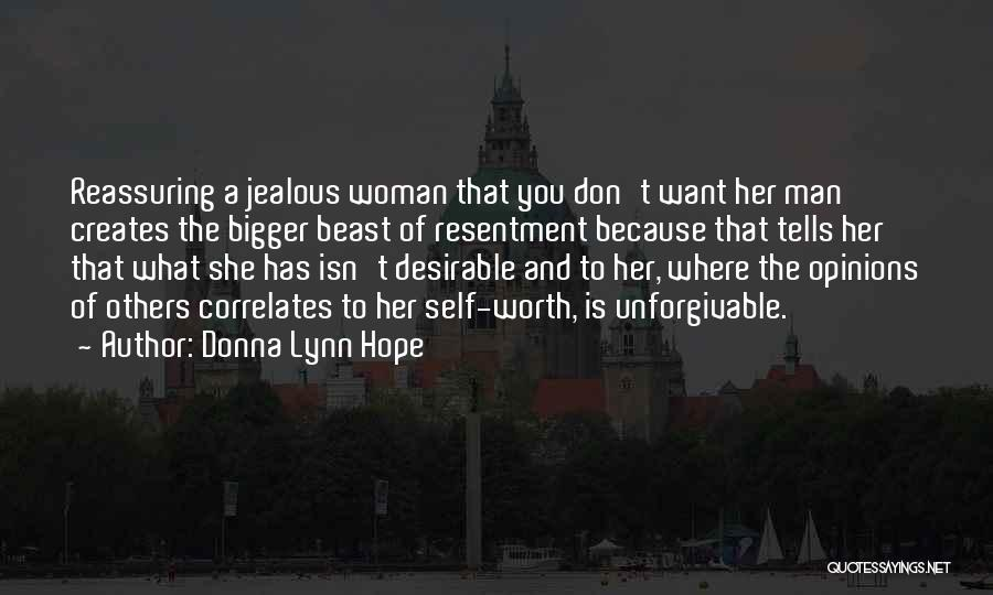 Man And Beast Quotes By Donna Lynn Hope