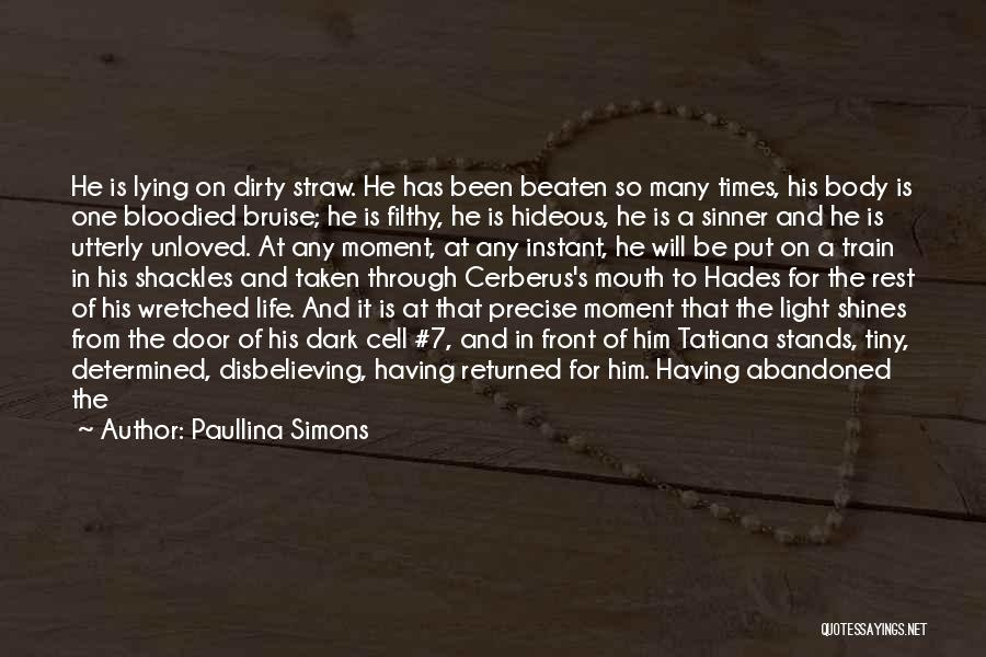 Man And Beast Quotes By Paullina Simons
