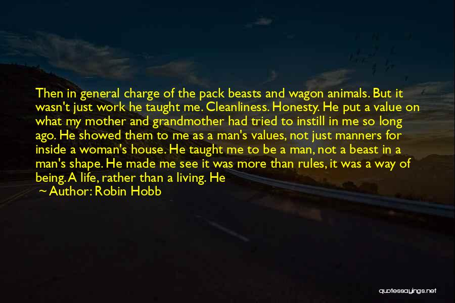 Man And Beast Quotes By Robin Hobb